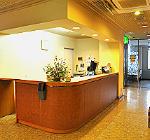 ホテルのレセプション(受付)